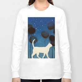 THE POETRY OF A NIGHT by Raphaël Vavasseur Long Sleeve T-shirt