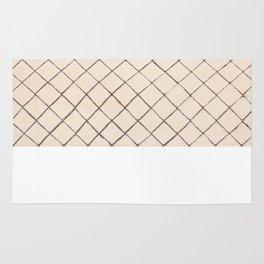 Moroccan Beni Ourain Dara Ivory Wool Rug  8 x 10 Rug