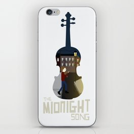 A Midnight song iPhone Skin