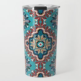 Native American Navajo pattern II Travel Mug