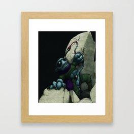 The Eternal Struggle Framed Art Print