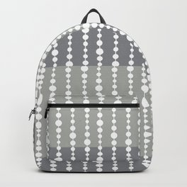 Beads Gray Backpack