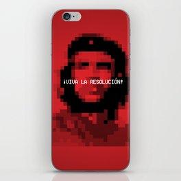 Viva la Resolución! iPhone Skin