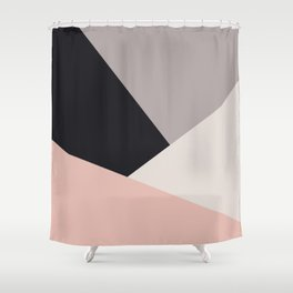 Elegant & colorful geometric Shower Curtain