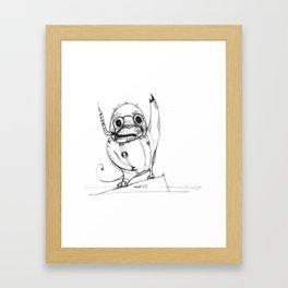 Spacedragon Framed Art Print
