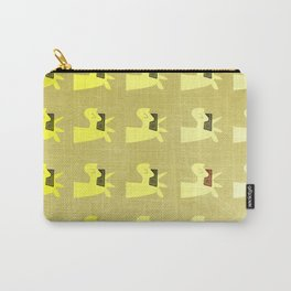 Golden Shades of Unicorn Carry-All Pouch