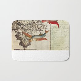Fish of a Feather Bath Mat