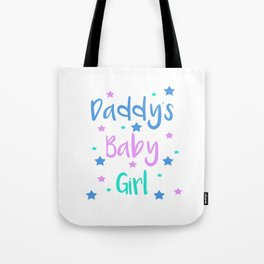 Daddy s Baby Girl Brat Little DDLG Ageplay Tote Bag