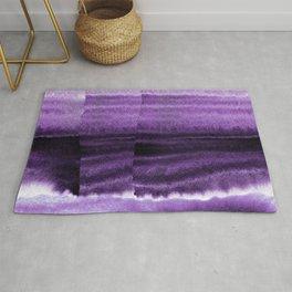 Violet Escape Watercolor Rug