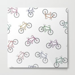 Hey That's My Bike! Metal Print