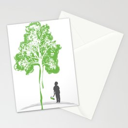 Paint a Tree Stationery Cards