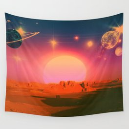 The Distance Between Us Wall Tapestry