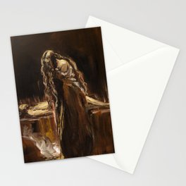 Lament of Mary Magdalene at the tomb Stationery Cards