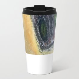 My body is cage, but my mind holds the key Travel Mug