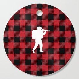 Buffalo Plaid - Soldier Cutting Board