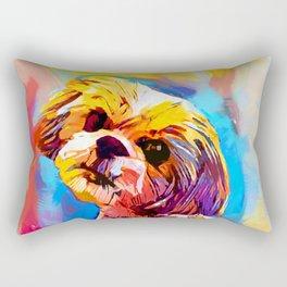 Shih Tzu 4 Rectangular Pillow