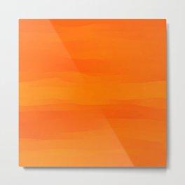 Warm Orange Marmalade Metal Print