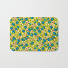 Blueberry Preserves Bath Mat