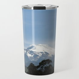 Snowy volcano Travel Mug