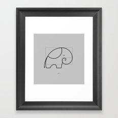 Phi Framed Art Print