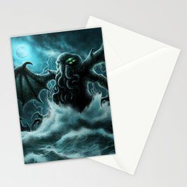Rise of Cthulhu Stationery Cards