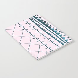 Vintage Rug Pink Notebook