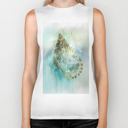 Shell Splash Biker Tank