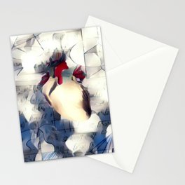 Mathematic heart Stationery Cards