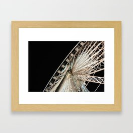 SkyWheel Framed Art Print