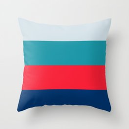 Four Brights Throw Pillow