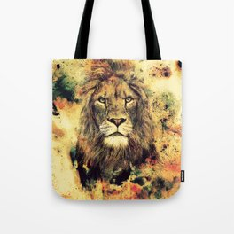 LION -THE KING Tote Bag