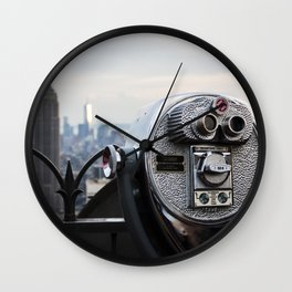Quarters Only Wall Clock