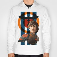 hiccup Hoodies featuring Train a Dragon by milanova