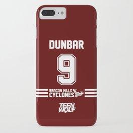 Dunbar 9 iPhone Case