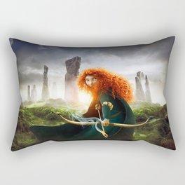 MERIDA THE BRAVE - PORTRAIT MERIDA WITH ARROW Rectangular Pillow