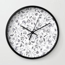 Different stuff pattern Wall Clock