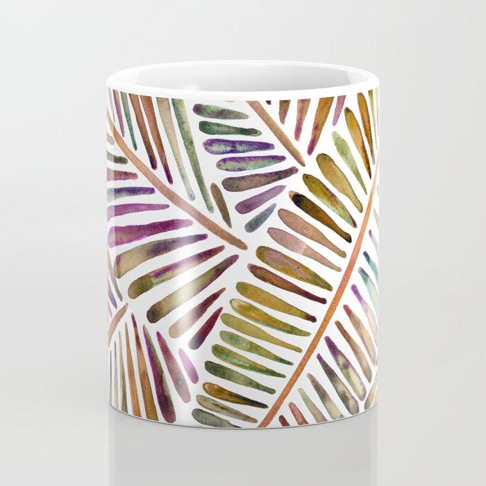 Tropical Banana Leaves – Vintage Palette Coffee Mug