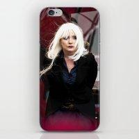 blondie iPhone & iPod Skins featuring Blondie by Euan Anderson