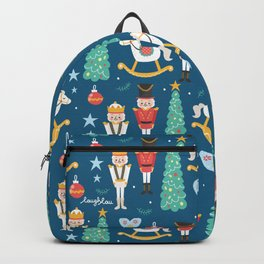 Nutcrackers under the Christmas Tree Backpack