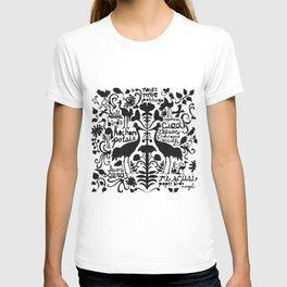 Wycinanki Folk Art T-shirt