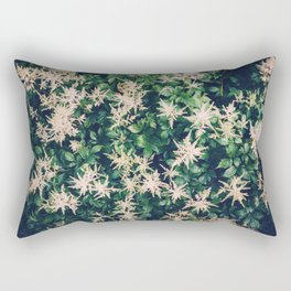 Astilbe From Above Rectangular Pillow