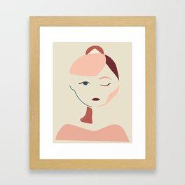 Hello Audrey Framed Art Print