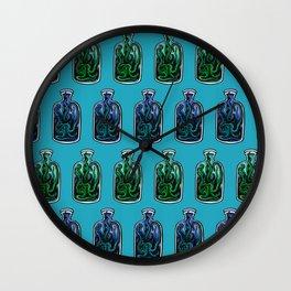 Octobottle Wall Clock