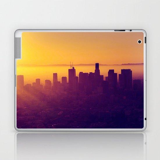 Los Angeles at Sunset Laptop & iPad Skin