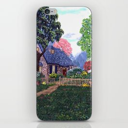 Essex House Cottage by Ave Hurley iPhone Skin