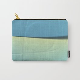 Pattern shadows in blue Carry-All Pouch