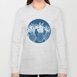 Pineapple blues Long Sleeve T-shirt