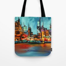 City Scapes Tote Bag