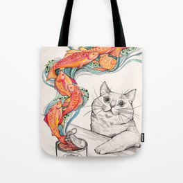 Wishes for Fishes Tote Bag