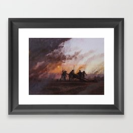 'Come and Take It' Framed Art Print